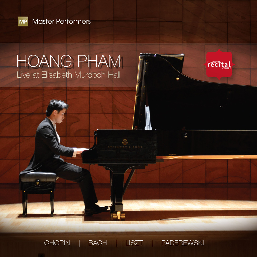 Hoang Pham LIVE AT ELISABETH MURDOCH HALL CD Cover