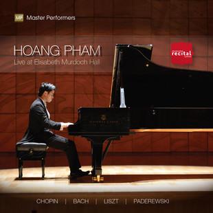 Hoang Pham LIVE AT ELISABETH MURDOCH HALL CD Cover