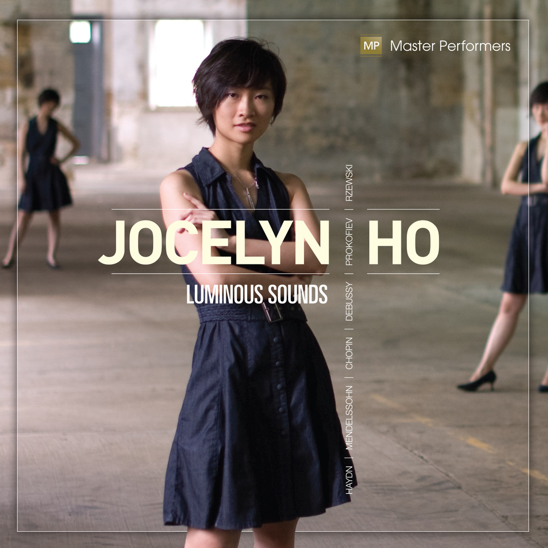 Joselyn Ho Luminous Sounds CD Cover