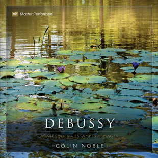Colin Noble Debussy CD Cover