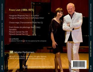 Vlassenko Stepanov Franz Liszt 200 Years CD Tray