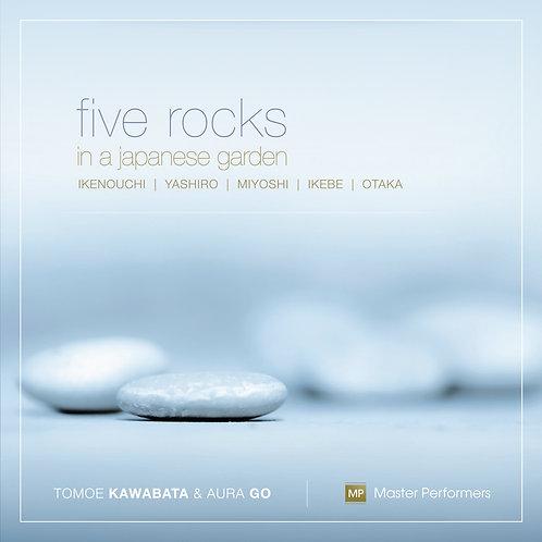Tomoe Kawabata Aura Go FIVE ROCKS IN A JAPANESE GARDEN