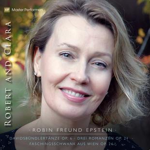 Robin Freund Epstein ROBERT AND CLARA CD Cover