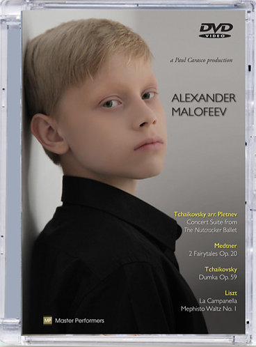 ALEXANDER MALOFEEV/Tchaikovsky arr. Pletnev Medtner Tchaikovsky Liszt