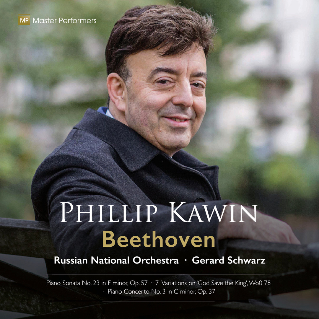 MP 20 001 Beethoven Phillip Kawin CD Cover
