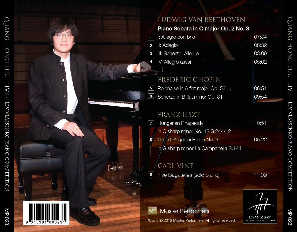 Quang Hong Luu CD Tray