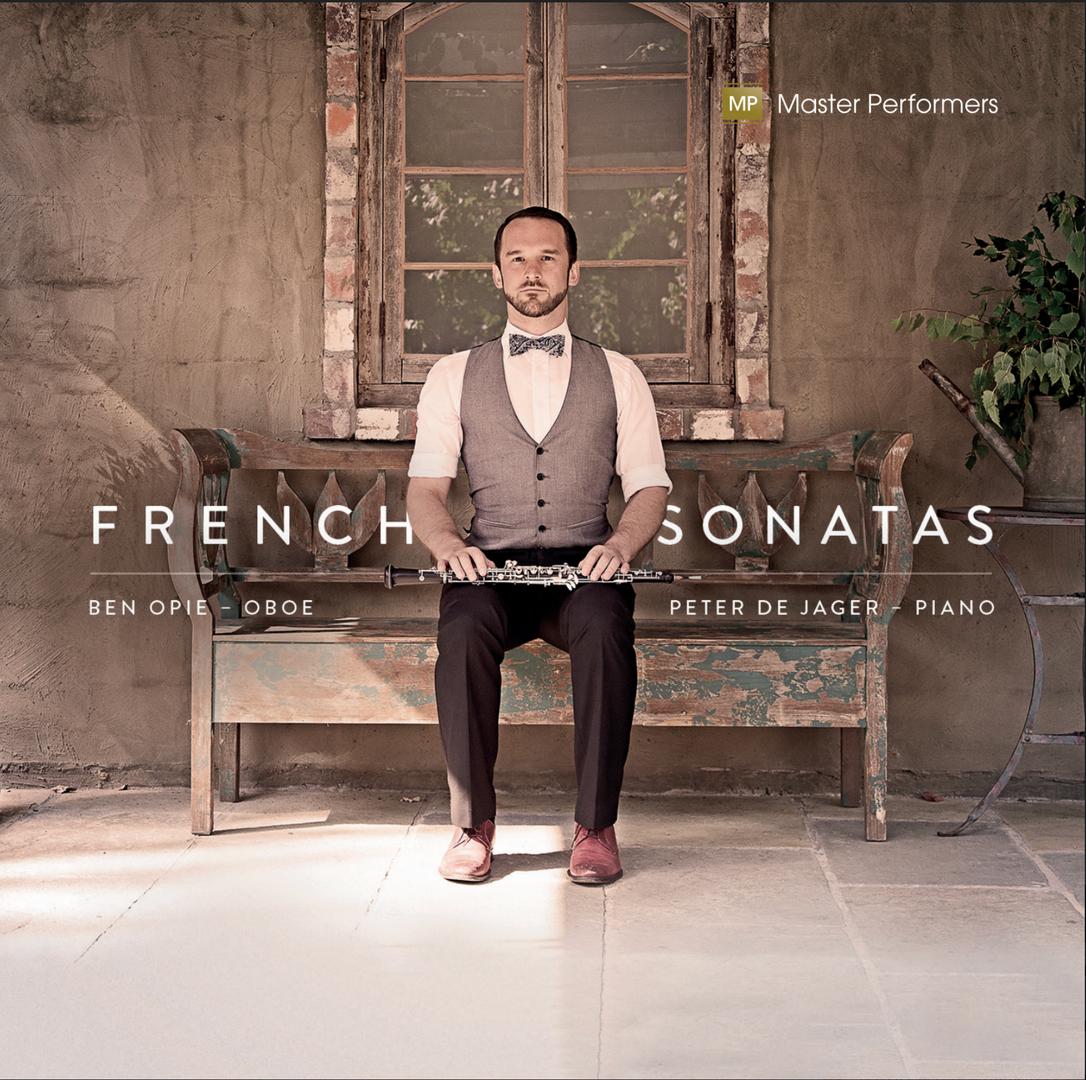Ben Opie Peter de Jager French Sonatas Cover