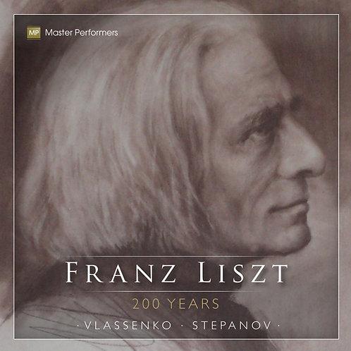 Natasha Vlassenko Oleg Stepanov FRANZ LISZT 200 YEARS