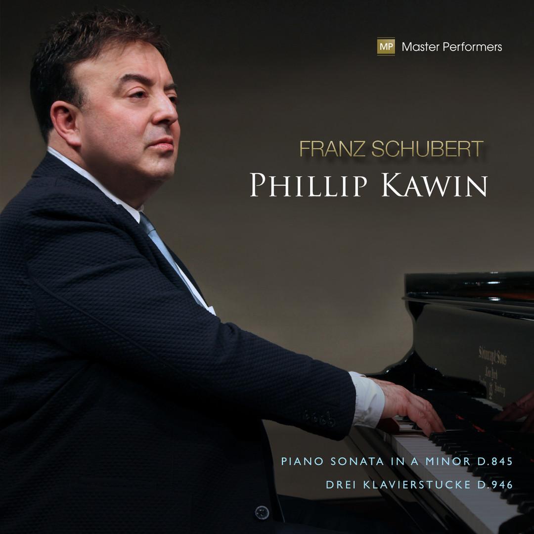 Franz Schubert / Phillip Kawin CD Cover