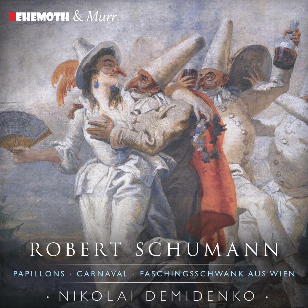 Nokolai Demidenko Robert Schumann CD Cover