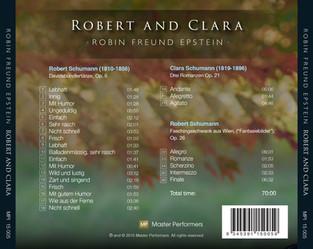 Robin Freund Epstein ROBERT AND CLARA CD Tray