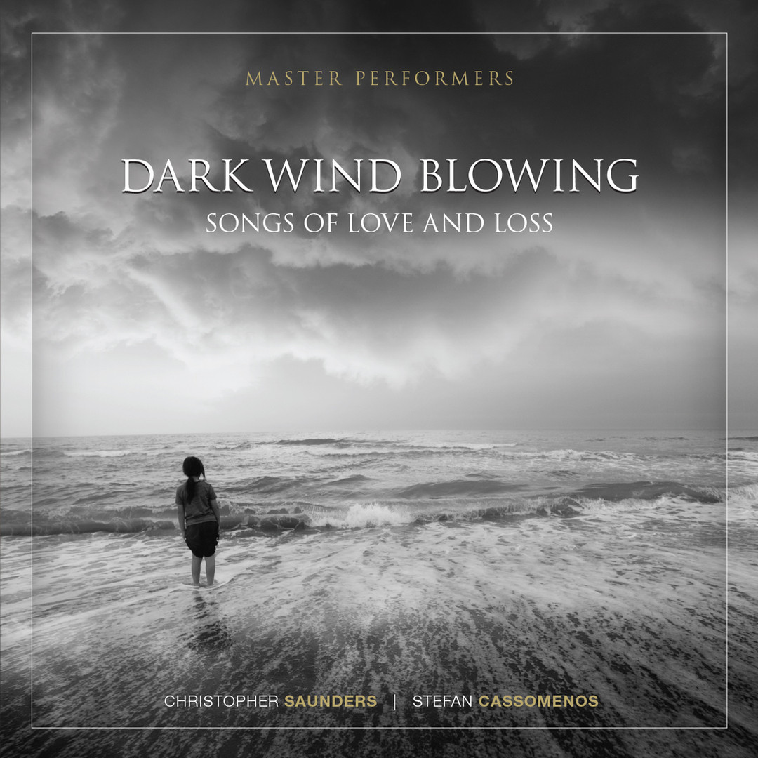 Dark Wind Blowing Stefan Cassomenos Christopher Saunders CD Cover