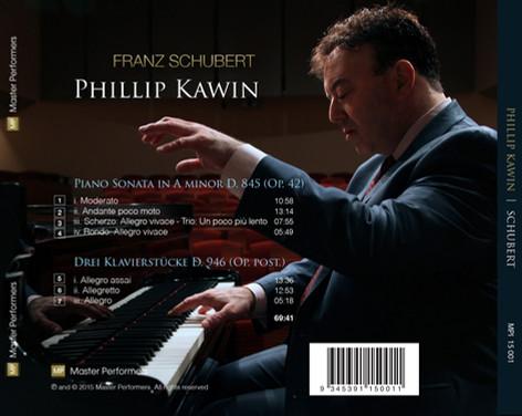 MP 15 001 Phillip Kawin: Franz Schubert
