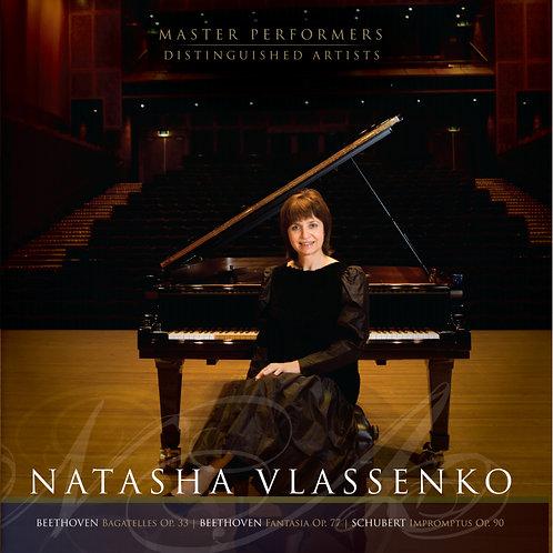 Natasha Vlassenko BEETHOVEN  SCHUBERT
