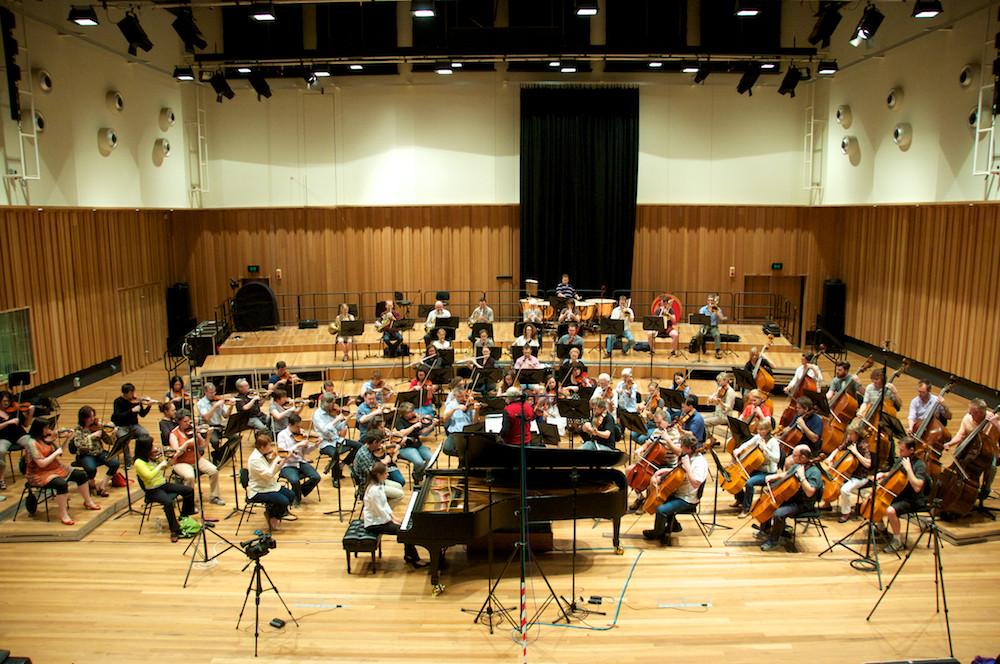 Marina Yakhlakova, Edvard Schivzhel and the Queensland Symphony Orchestra