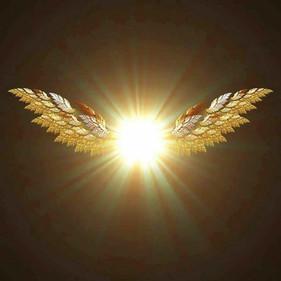 クリスタルは天使の光です