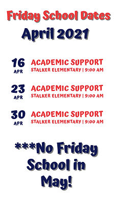 Copy of February School Events Schedule