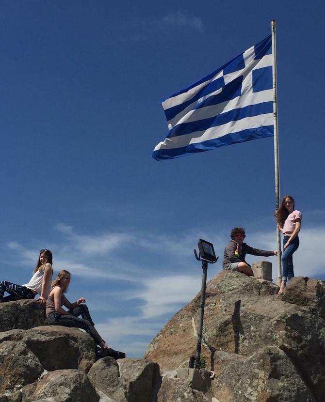 Trainingslager in Griechenland