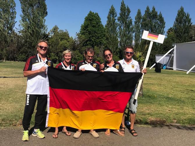 Senioren Wasserski-Weltmeisterschaft in Chile: Deutsche Mannschaft holt Bronze!4* Gold, 4* Silber &