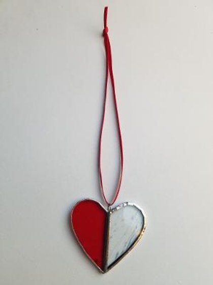 Stained Glass Heart 4