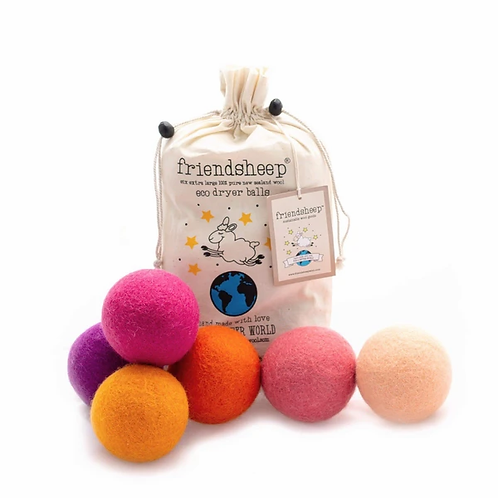 Tropical Sunset Eco Dryer Balls