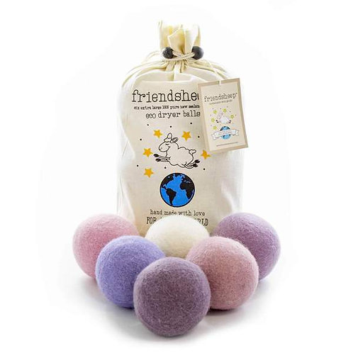 Lavender Bliss Eco Friendly Dryer Balls