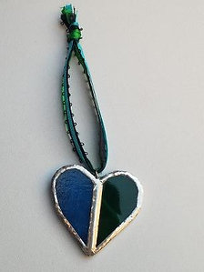 Stained Glass heart 5