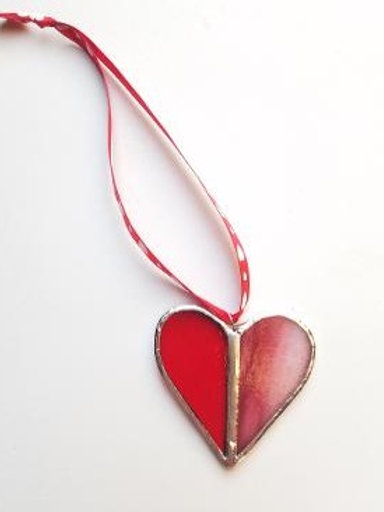 Stained Glass Heart 14