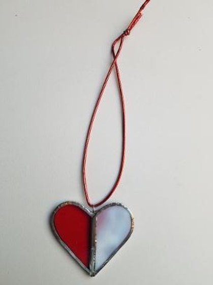 Stained Glass Heart 3