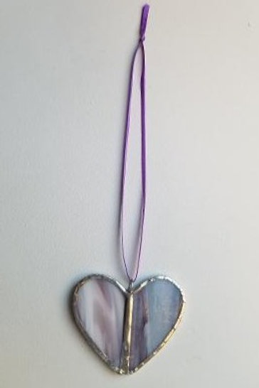 Stained Glass Heart 11