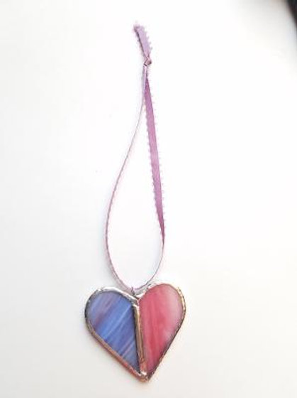 Stained Glass Heart 18