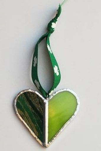 Stained Glass Heart 6