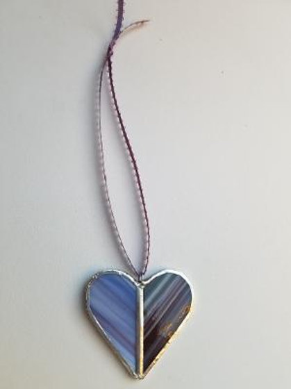 Stained Glass Heart 10