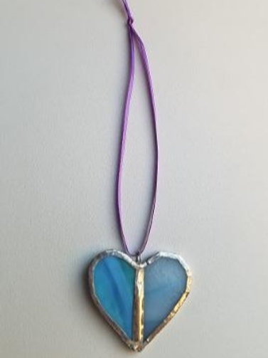 Stained Glass Heart 13