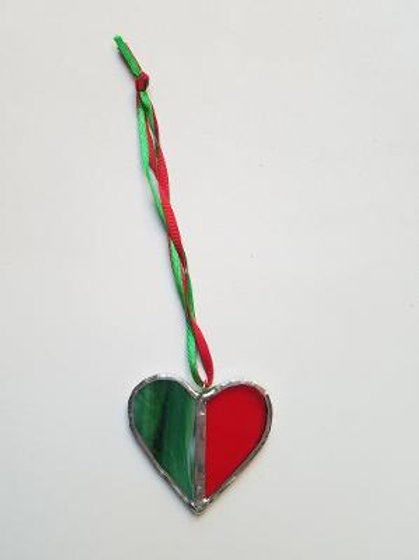 Stained Glass Heart 1