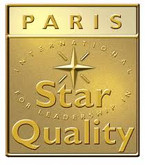 Logo International Star for leadership in Quality