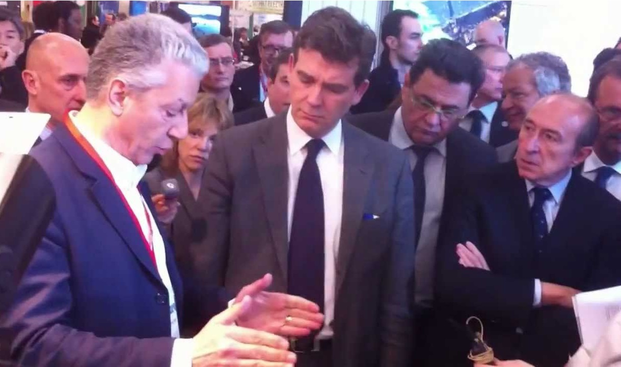 French Minister Arnaud Montebourg