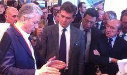 French Minister Arnaud Montebourg
