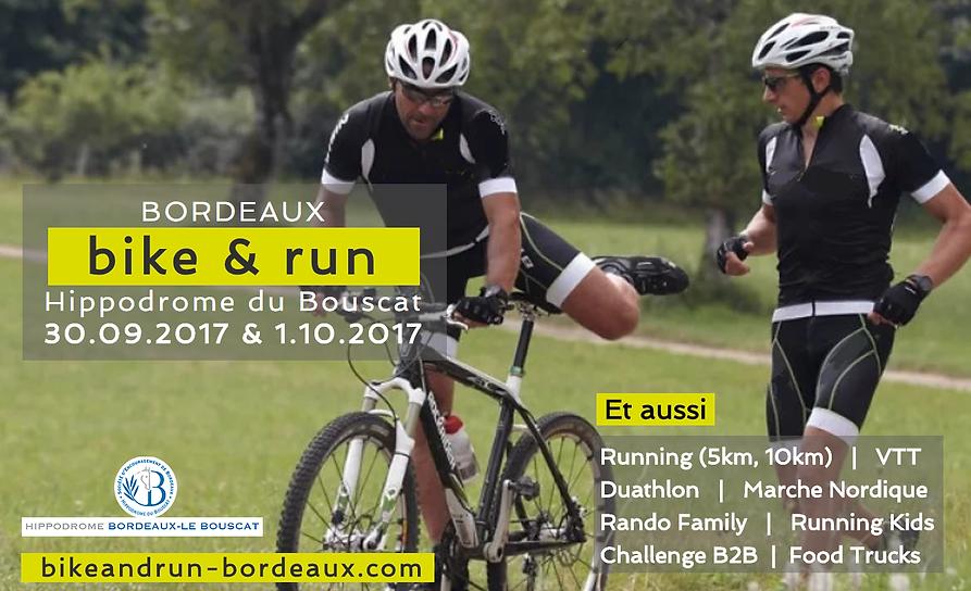 Flyer bordeaux Bike and Run