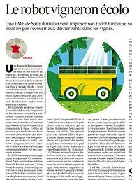 Article Sud-Ouest Vitirover