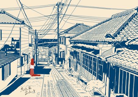 銚子の街並み