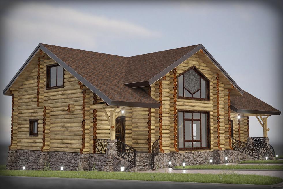 Wood house III