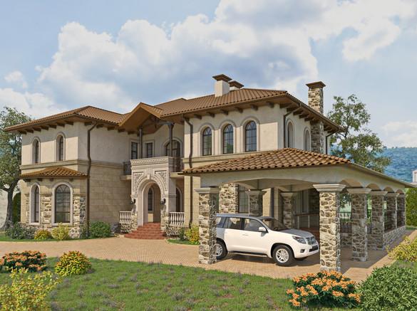 Mediterran house I