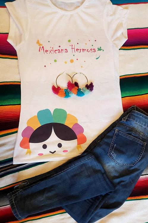 """Playera BMF  """"Mexicana Hermosa"""""""
