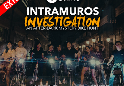 A mystery bike hunt in historic Intramuros, Manila + more!