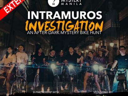 A mystery bike hunt in historic Intramuros, Manila + more!