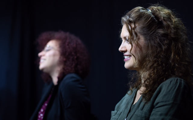 Laura Lockwood and Chelsea Davis