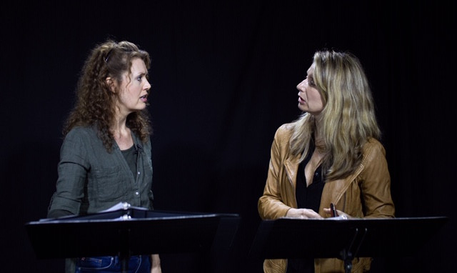 Laura Lockwood and Nadia Bowers in Turning Your Body Into a Compass