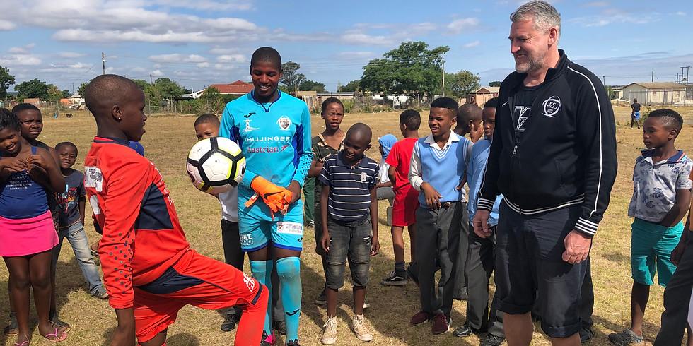 Wir für unsere Kinder - Brückenschlag: FC Hill Jois und Südafrika