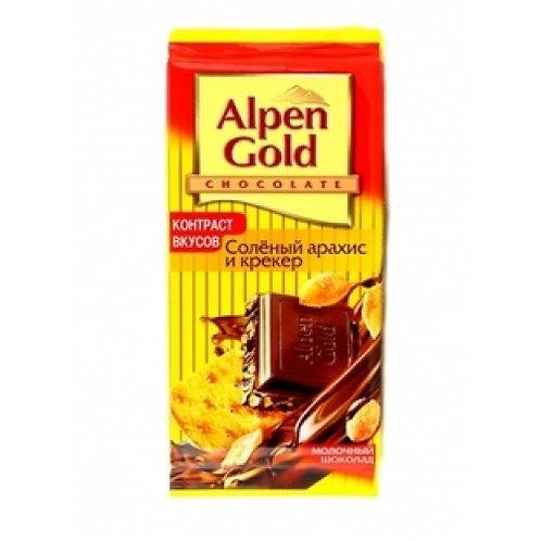 Альпен Гольд с Арах. и Крекер шокол. 1шт. оптом